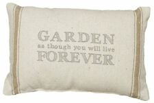 Garden Quote Pillow Striped Primitives by Kathy Home Decor Gift