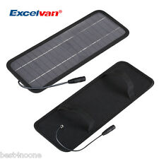 12V 4.5W Smart Power Solar Panel Battery Charger for Trickle Car Boat Motorcycle
