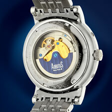 ARBUTUS: New York Madison Ave MoonPhase Mens Automatic Watch / MSRP $2,235.00