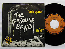 "The GASOLINE BAND Schrapnel/Can't you see me FRENCH 7"" 45 CUBE(1972) prog jazz"
