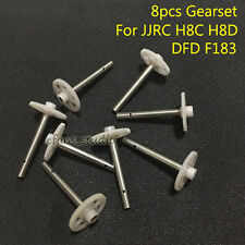 8pcs Gearset gera for JJRC H8C H8D DFD F183 RC Quadcopter Drone Spare Parts