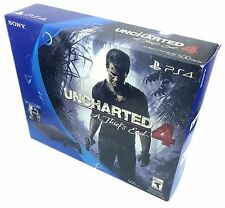 Sony PlayStation 4 PS4 500GB Slim Console Uncharted 4 Bundle Brand NEW