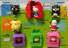 McDONALD'S 2016 HELLO KITTY SANRIO - COMPLETE SET OF 8 - FREE PRIORITY SHIPPING