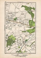 1923 LONDON STREET MAP - BEXLEY HEATH,BEXLEY,COLDBLOW,UPTON,BRIDGEN