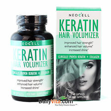 Neocell KERATIN HAIR VOLUMIZER 60 Capsules - hair health/strength Made In USA