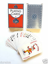 2Deck of Professional Plastic Coated Playing Cards Bridge Size 52 cards per pack