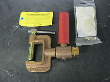 Tweco GCRG-140 400 Amp C Clamp Style Roto-Ground Welding Clamp #1 - 4/0 Cable