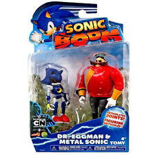 Sonic Boom 2 Figure Pack - Dr Eggman and Metal Sonic 3 Inch Figures  *BRAND NEW*