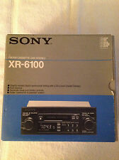 Sony XR 6100 shaft style cassette with box