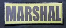 3x8 Marshal OD Green Black Tactical Hook Chest Rig Plate Carrier Raid Patch SWAT