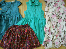 **AMAZING** NEW USED 100%NEXT GIRL 4x DRESSES 6 YRS  (0.5)