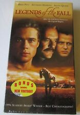 NEW: Legends of the Fall VHS includes New Bonus Footage Free Shipping