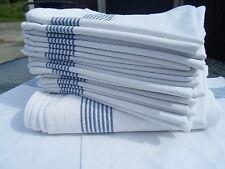 10 x Glass cloth tea towel 100% cotton cloths restaurant bar cafe