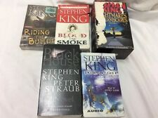 Stephen King Audiobook Cassettes Lot