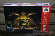 Mortal Kombat 4 (Nintendo 64, N64 1997) FACTORY SEALED & MINT! - ULTRA RARE!