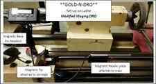 "**Gold-N-DRO** 12"" ""X"" Axis Modified Igaging Magnetic DRO - Universal Kit"