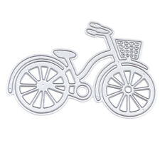 Metal Bike Bicycle Cutting Dies Stencil For DIY Scrapbook Album Paper Card Craft