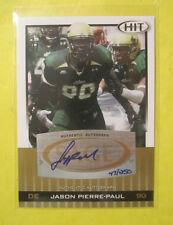 Jason Pierre-Paul 2010 Sage Hit Autographed Rookie Card. #D 47/250