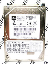 Toshiba 40GB MK4019GAX IDE (HDD2171 Y ZE01 T) Laptop Hard Drive WIPED & TESTED!