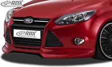 RDX Frontspoilerlippe für Ford Focus 3