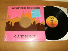 "MASTER MIX MEDLEY by TONY HUMPHRIES (7th anniv.) - 12"" vinyl 1982 - WEST END 109"