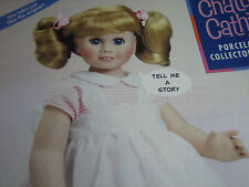 Danbury Mint 2002 Chatty Cathy Doll Ad ADVERTISEMENT ONLY Pinks