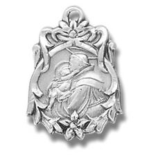 Sterling Silver Fancy St Anthony Patron Saint Medal Gift from MRT