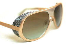 ROBERTO CAVALLI DEA RC602 SUNGLASSES 40TH ANNIVERSARY LIMITED EDITION SNAKESKIN!