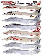 Fightertown Decals 1/48 GRUMMAN F-14A TOMCAT FIGHTERTOWN U.S.A. Part 2