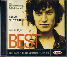 Winwood, Steve Well All Right (Best of) Zounds CD