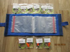 10 x 2/0 mixed sea fishing Rigs with RIG WALLET