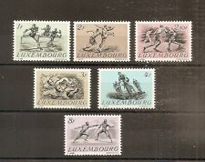 TIMBRE LUXEMBOURG LUXEMBURG N°455/460 NEUF* MH COTE 35 EUROS