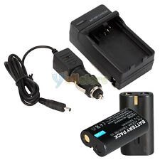 2* Battery + Charger for KODAK KLIC-8000 Z612 Z712 IS Z812 IS