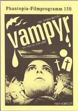 Phantopia Filmprogram Nr. 150 Vampyr
