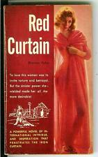 RED CURTAIN by Duncan Taylor, rare US Beacon Book sleaze gga pulp vintage pb