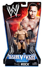 WWE SURVIVOR Series_HERITAGE Collection__THE ROCK 6 inch action figure_New & MIP