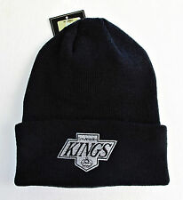 LA Kings Vintage Black Knit Beanie Cap Hat