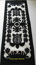 Hawaiian quilt 100% hand quilted appliqued handmade table runner wall hanging