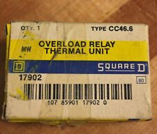 Square D, CC46.6, Overload Heating Element - NEW