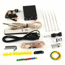 Complete Tattoo Kit Set Equipment Machine Needles Power Supply Gun Inks WD