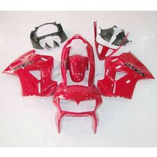 Red Plastic Fairing Cowl Bodywork Kit For Honda VFR800 VFR 800 98-01 99 00 3A