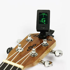 LCD Clip-On Digital Tuner for Acoustic Electric Guitar Bass Chromatic Instrument