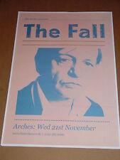 THE FALL - rare UK live music show tour concert / gig poster - nov 2012