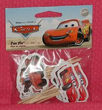 Cars,Mater,Cupcake Fun Picks/Pix,Wilton,Decoration,Multi-Color,2113-6402, Cake