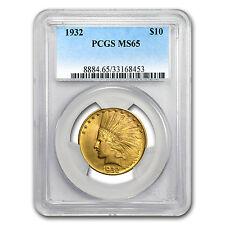$10 Indian Gold Eagle MS-65 PCGS - SKU #59380