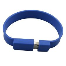 1GB USB Wrist Band (Blue)