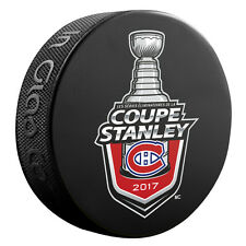 2017 Montreal Canadiens (French) Stanley Cup Playoffs Commemorative Hockey Puck