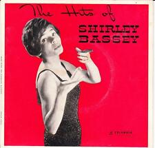 SHIRLEY BASSEY  (OZ 4 TRCK EP '60'S )  THE HITS OF