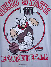 HAGAR HORRIBLE comic T shirt OG Ohio State Buckeyes med tee  OSU basketball 1986
