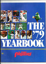 1979 PHILADELPHIA PHILLIES YEARBOOK PETE ROSE 1ST YEAR AS A PHIL FREE PETE ROSE